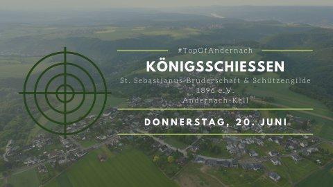 Einladung zum Königsschießen 2019 | Bild: (c) Stefan Kaufmann